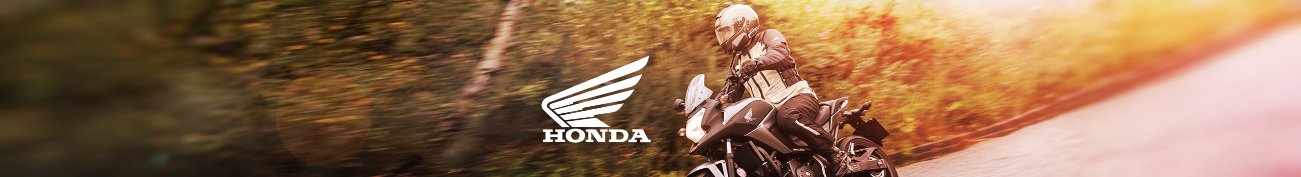 Motorcycles hero image for Honda