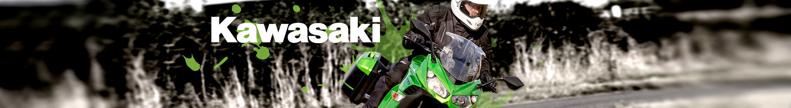 Motorcycles hero image for Kawasaki
