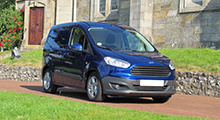 Ford Transit Courier expert review